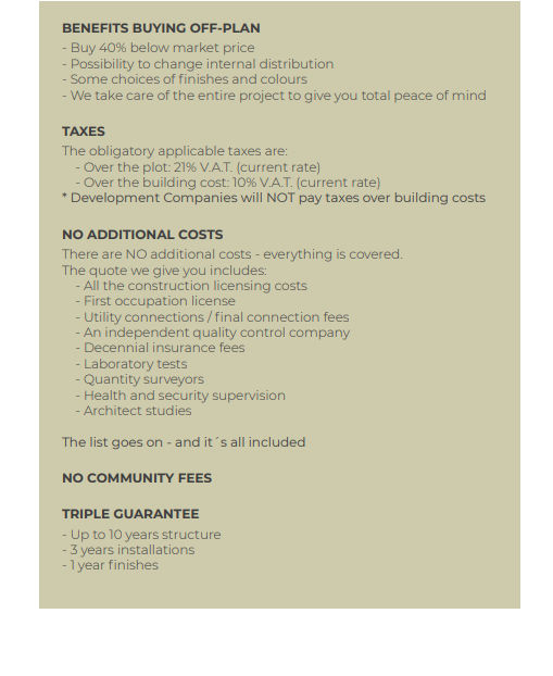 Duquesa Valley Payment Plan 2
